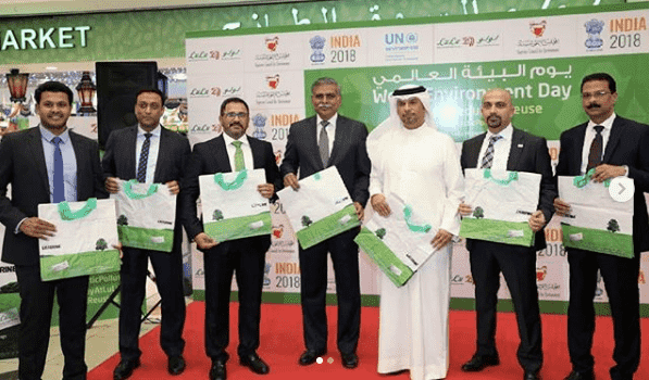 THE SUPREME COUNCIL FOR ENVIRONMENT PARTICIPATES IN LAUNCHING AN INITIATIVE TO MINIMIZE UTILIZATION OF PLASTIC BAGS